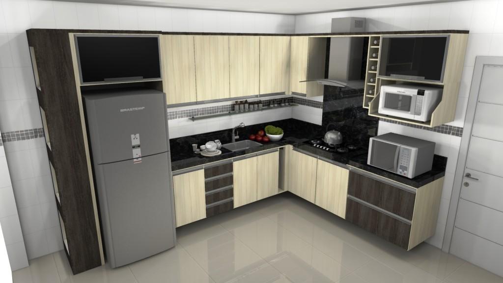 Cozinhas planejadas Cozinhas pequenas planejadas # Cozinha Planejada Pequena Bh