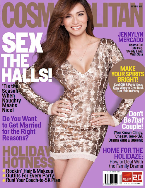 Jennylyn Cosmopolitan Philippines December 2015 Issue