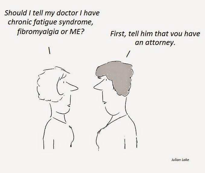 cfs, chronic fatigue syndrome, litigation, doctor, fibromyalgia, ME, fraud