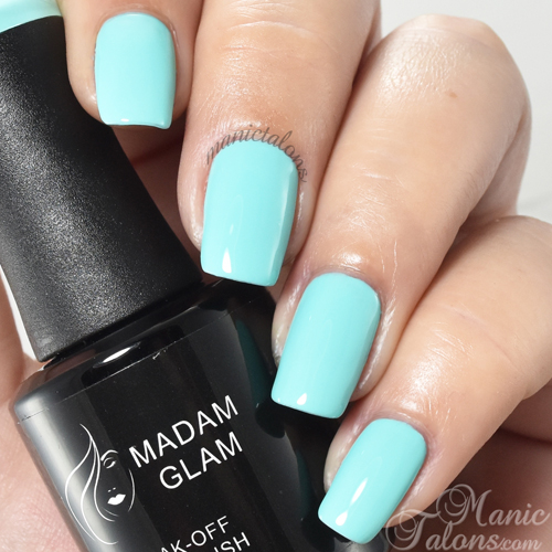 Madam Glam Caribbean Sea Swatch
