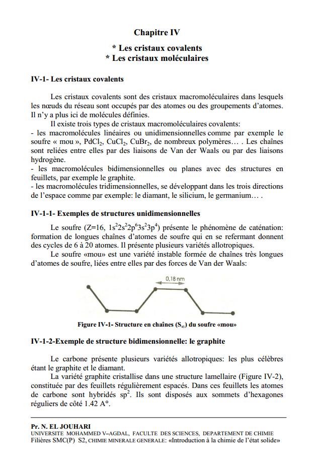 cours de cristallographie smc s4