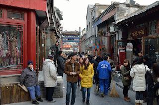 Yandaixie Jie near Houhai in Beijing