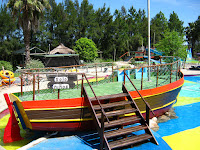 The Pirate ship of kids