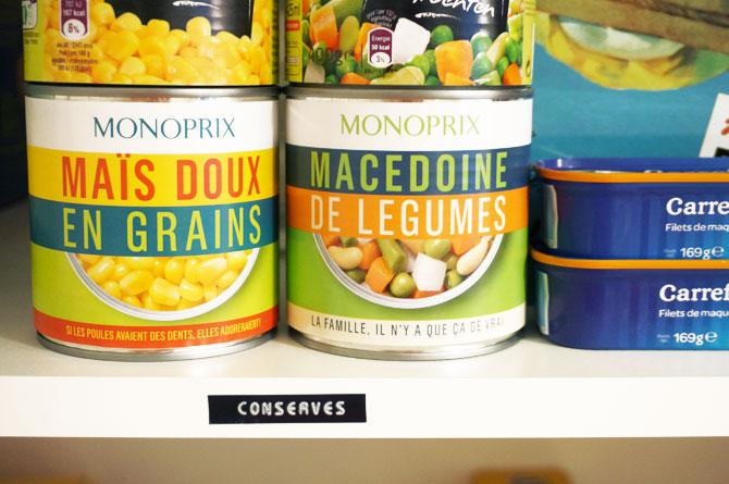 DIY étiqueteuse : organisation d'un placard, étiqueter les étagères