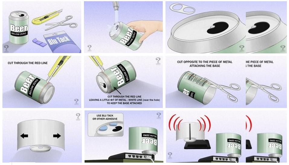 Как увеличить сигнал wifi своими руками