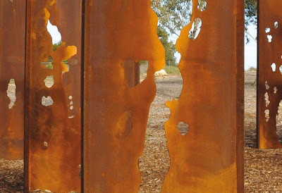 Lump Studio Corten Steel Sculpture