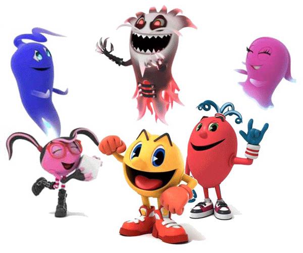 Personajes de Pac-man para imprimir