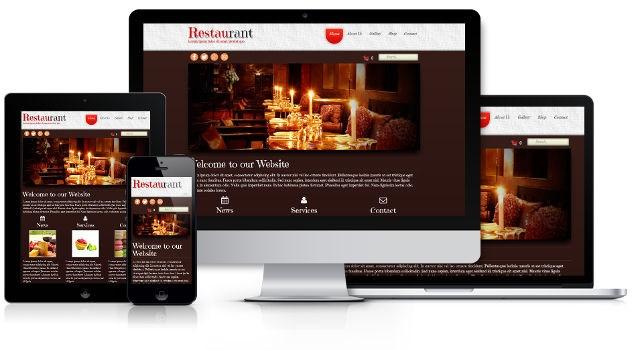 """Thiết kế web nhà hàng """"đúng chất nhà hàng"""""""