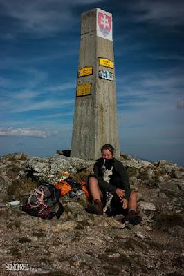 Western Tatras Baranec summit
