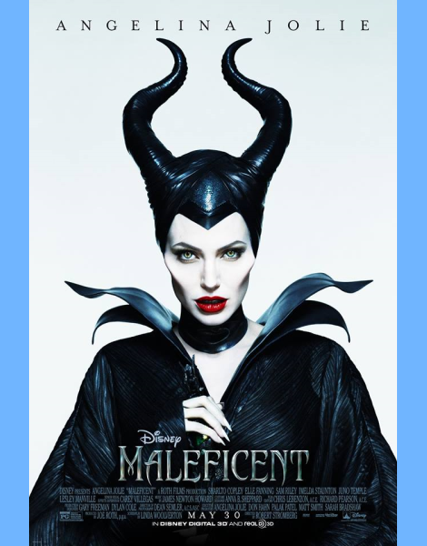 Angelina Jolie is Very Horny in New 'Maleficent' Poster