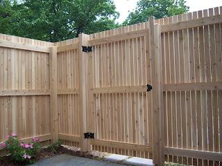 Деревянный забор. Фото 92