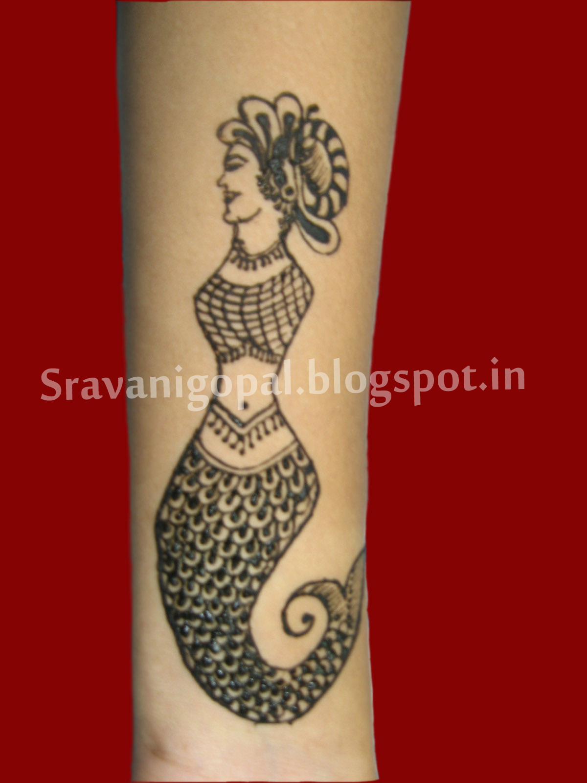 Arabic Mehndi For Right Hand : Sravani s arts crafts mehndi designs