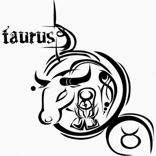 Taurus zondiac tattoo stencil