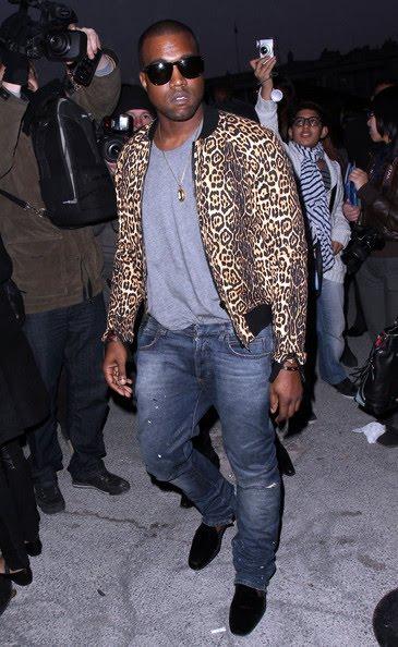 Kanye in Givenchy & Balmain