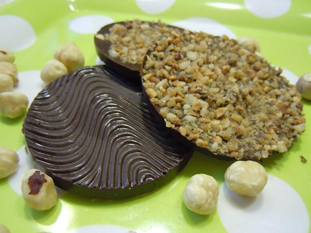 Caraques chocolat noir et brésilienne