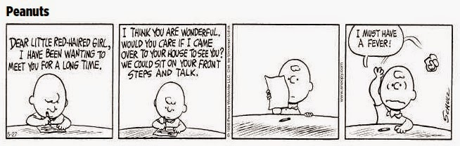 Charlie Brown Peanuts cartoon