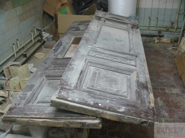 Реставрация деревянной двери своими руками видео