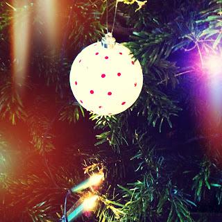 Letzte Weihnachtskugel