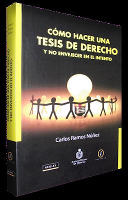 Cómo hacer una tesis de Derecho y no envejecer en el intento - Carlos Ramos Nuñez