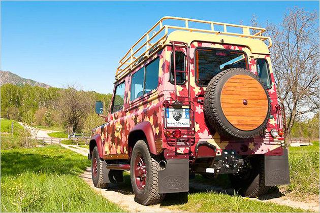 Land Rover Defender Vineyard