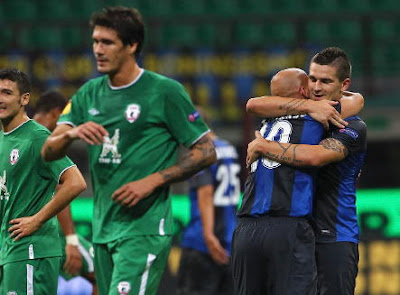 Inter-Rubin Kazan 2-2 highlights