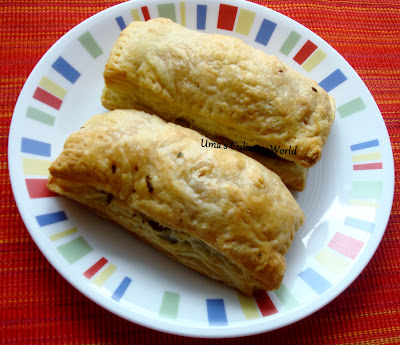 vegetable puffs or pattice