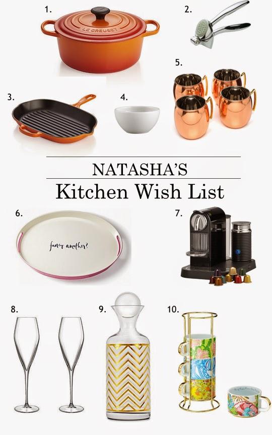 Natasha 39 S Kitchen Wish List Asili Glam