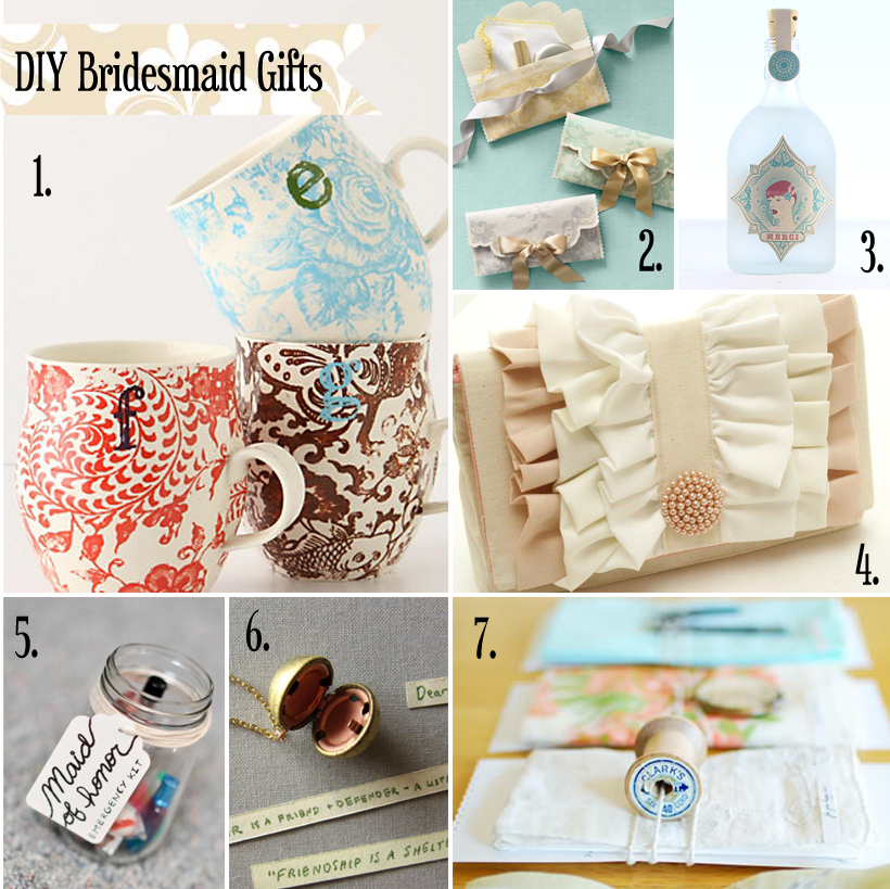 Better life blog handmade gifts wedding party for Handmade things for home