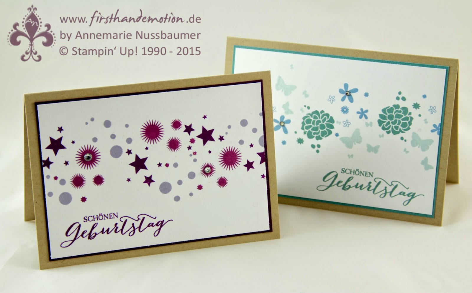 Perpetual Calendar Stamp : First hand emotion perpetual birthday karte und letzter
