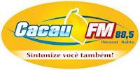 ouvir a Rádio Cacau FM 88,5 Ibicaraí BA