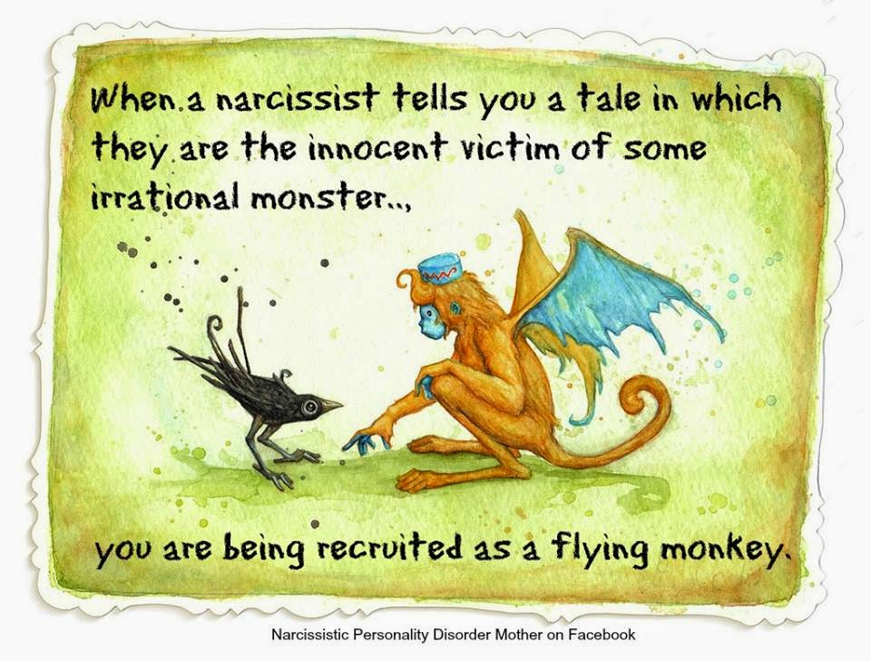 Narcissistic Mother's Flying Monkeys