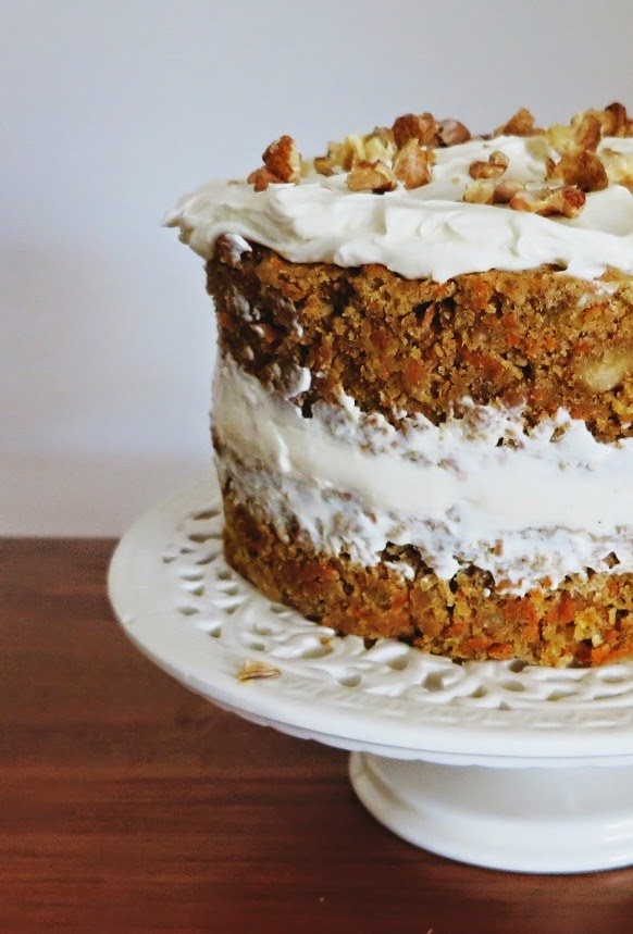 Celebration Carrot Cake With Cream Cheese Icing Friendly Little
