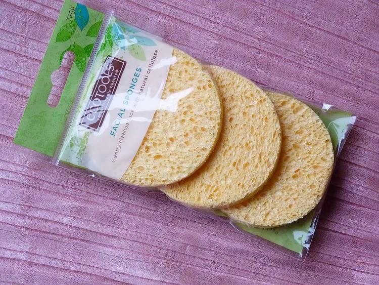 Sponges cellulose facial