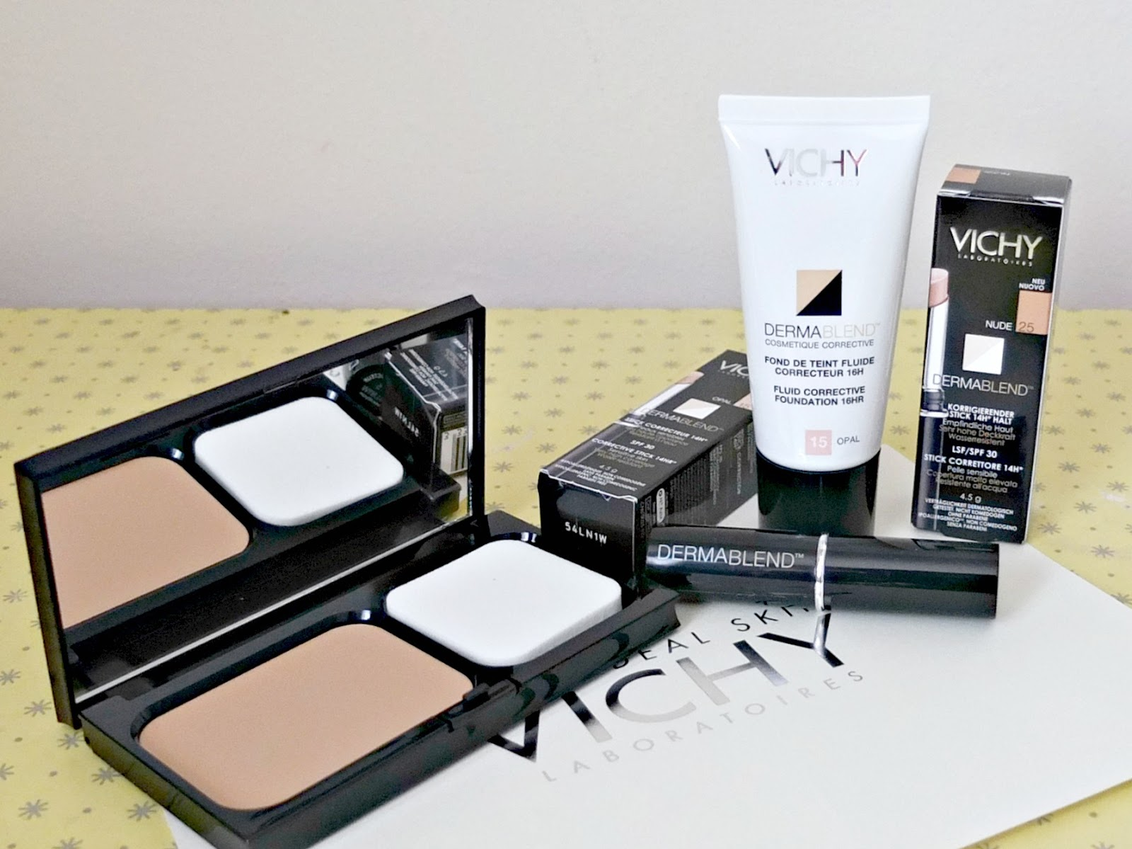 vichy dermablend review and swatches