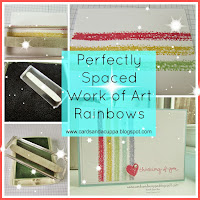Perfectly Spaced Work of Art Rainbow
