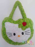 Tas Hello Kitty warna Hijau