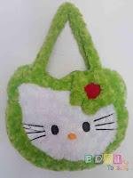 Tas Hello Kitty warna Hijau