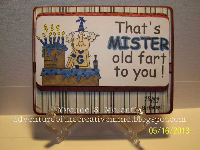 Happy Birthday Old Fart... Birthday Card  61 Of 130...