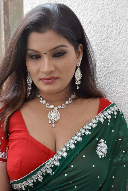 Actress Mumtaz Hot Saree Photos at ithuthanda Chennai Movie Launch