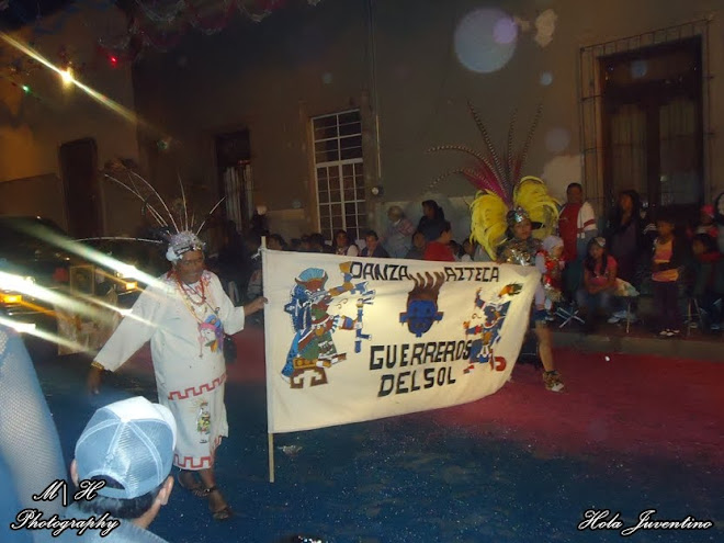 "Danza Azteca ""Guerreros del Sol"""