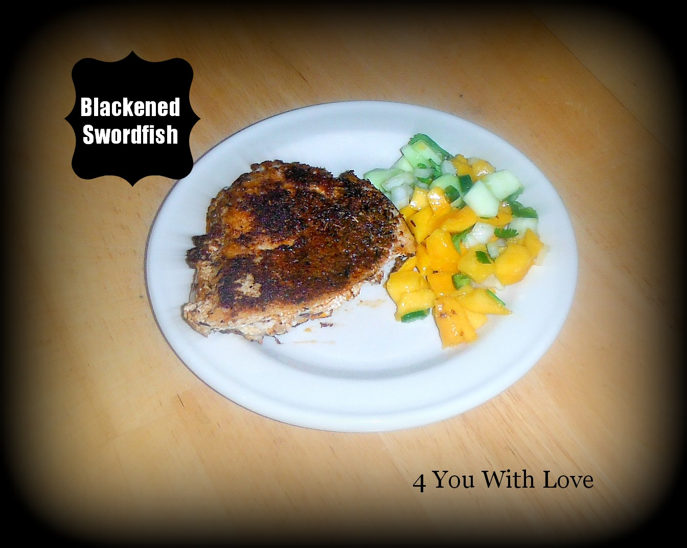 Party Thyme, Get Your Grill On – Blackened Swordfish