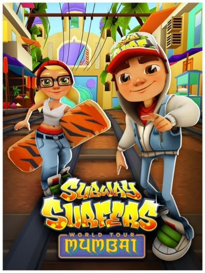 Subway Surfers 1.36.0 India Mumbai 2 Modded Unlocked Unlimited