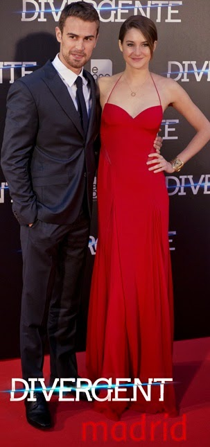 Premiera Divergent in Spania