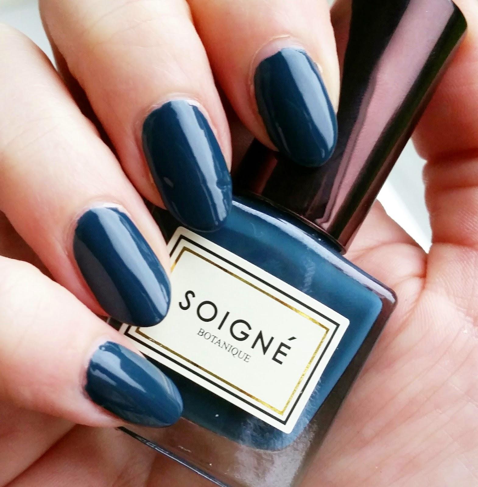 Soigne Plant-Based Nail Polish in Bleuet