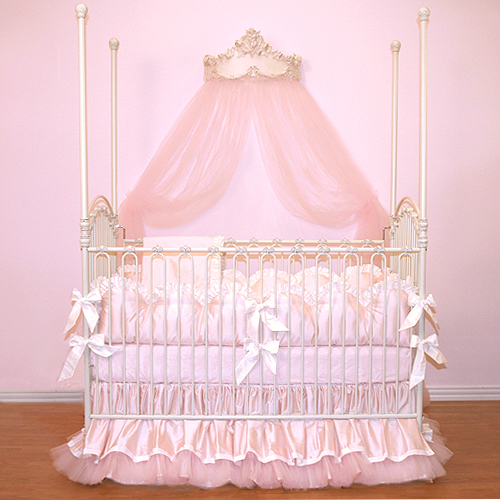 Bassinet Bedding For Girls2