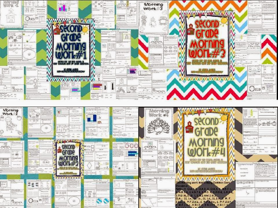http://www.teacherspayteachers.com/Product/Common-Core-Math-and-Literacy-Morning-Work-for-the-Entire-Year-Second-Grade-1247261