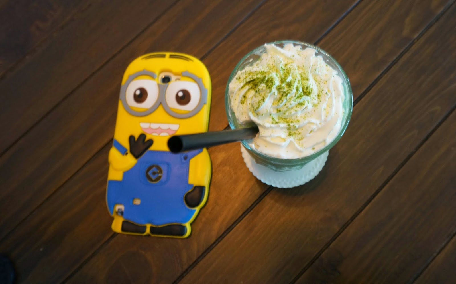 Historica Coffee & Pastry Drink Green Tea Frappe