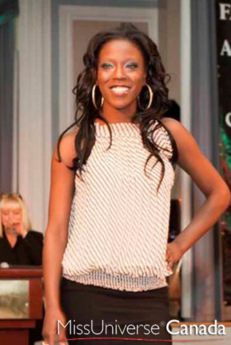 Miss Universe Canada 2011 Contestant - Olawumi Adeniyi's Photo & Profile/Biography