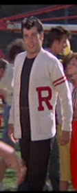 Rydell High Letterman Sweater Costume 15