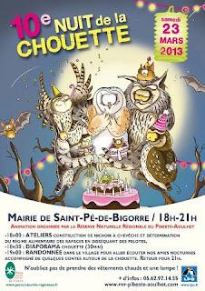 la Nuit de la Chouette 2013  Saint-Pé-de-Bigorre